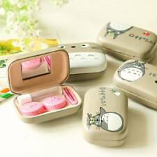 Mini Portable Contact Lens Holder Storage Soaking Box Case Container For Travel