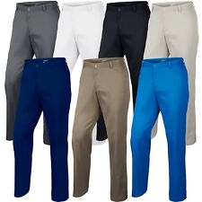 NEW NIKE GOLF Dri Fit TECH Pants FLAT FRONT Mens Sizes Colors PGA Tiger Rory Day
