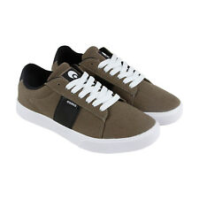 Osiris Rebound Vlc Mens Brown Canvas Lace Up Lace Up Sneakers Shoes