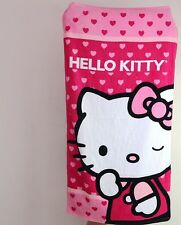 Hello Kitty Heart Washcloth Bath Towel Beach Towel 60 x 120cm KK515