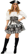 Stacy Steampunk Lady Pirate Ladies Fancy Dress NEW - Ladies Carnival Panel