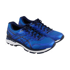 Asics Gt 2000 5 Mens Blue Mesh Athletic Lace Up Running Shoes