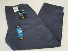 NEW DICKIES MENS RELAXED FIT BLUE CARPENTER JEAN PANTS MANY SIZES AVAILABLE