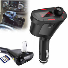 FM Transmitter Support SD/MMC Memory Card USB flash drive Car MP3 Red
