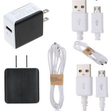 1/2/3MFast Charging Lead Wall Charger+Micro USB Data Cable For Samsung Galaxy LG