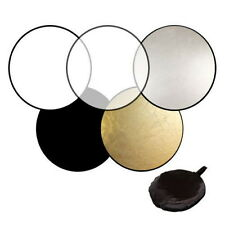 60cm 80cm 5in1 Photography Studio Light Mulit Collapsible disc Reflector  EC