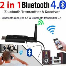 USB Bluetooth4.0 Wireless A2DP Audio Transmitter Stereo Adapter for TV PC LOT AG