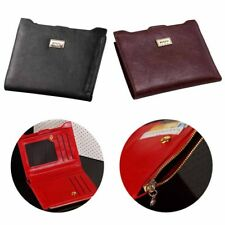 1 pcs Coin Card Holder Photo Wallets Zipper PU Leather Wallets