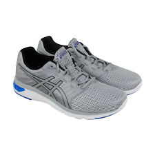 Asics Gel Moya Mens Gray Mesh Athletic lace Up Running Shoes