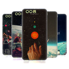 OFFICIAL FRANK MOTH SPACE SOFT GEL CASE FOR HUAWEI PHONES