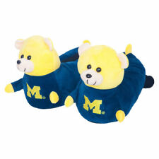 Michigan Wolverines Youth 3D Mascot Slippers