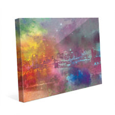'Splash Shoreline Splatter' Canvas Wall Art Print