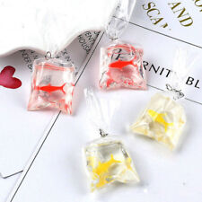 Novelty Goldfish Water Bag Shape Dangle Hook Earrings Charm Women Jewelry Gift