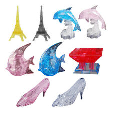 Crystal Gallery 3D Puzzle Fish/High Heel/ Tower Building Model Jigsaw Puzzle