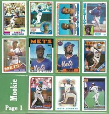 Dwight Gooden & Darryl Strawberry 1985 1986 1987 1988 1989 1990 1991 1992 NM/MT
