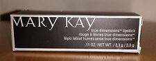 MARY KAY True Dimensions Lipstick CHOOSE YOUR COLOR - Full Size .11 OZ NEW!