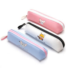Cute Fashion Cartoon Pencil Case Pen Bags Makeup Cosmetic Bag Zipper Coin Pouch