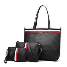 Women Synthetic Leather Patchwork Composite Messenger Handbag Set Clutch LKR8