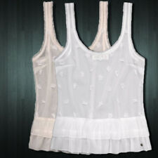 NWT ABERCROMBIE & FITCH WOMEN KAYLIN CAMI TOP TANK SIZE LARGE