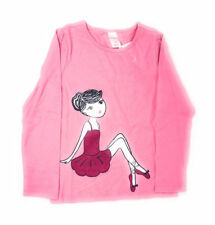 "Gymboree Girls Cute Novelty Graphic ""The Ballerina"" Shirt Sz 6 NWT Fall/Winter!"