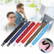 Bracelet Micro USB Data Sync Charging Charger Cable For Andriod Smart Phones