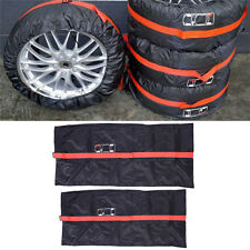 """Car SUV Spare Wheel Tyre Tire Protection Storage Bag 13""""-16"""" Carry Tote Cover"""