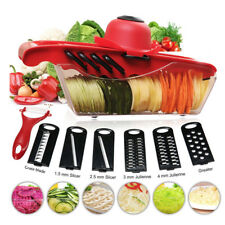 Multi-functional Vegetable Chopper Grater Cutter Food Container Shredders Slicer