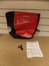 Ortlieb Front / Sport Front City Single Waterproof Pannier Bag Red / Black