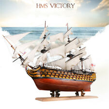 50cm HMS Victory Wooden Sailing Boat Ship Assembly Model DIY Kits Decoration