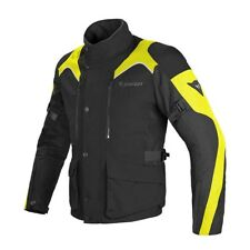 Dainese Tempest D-Dry Black Fluo Yellow Motorcycle Jacket - New! Free P&P!