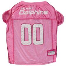 Miami Dolphins Mesh Dog Jersey - Pink