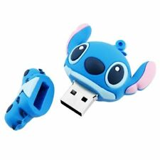 4GB Disney Stitch USB 2.0 Flash Drive Plus Free Stitch Lanyard - US SELLER