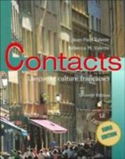 Contacts : Langue et Culture Françaises by Jean-Paul Valette and Rebecca M....