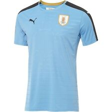 PUMA YOUTH URUGUAY HOME JERSEY BLU/BLK KIDS SZ. M-XL 749038 01