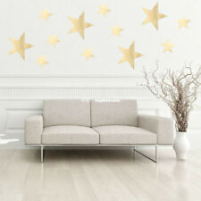 Gold/Silver Stars Wall Stickers For Kids Rooms Bedroom Playroom Art Decal Nice