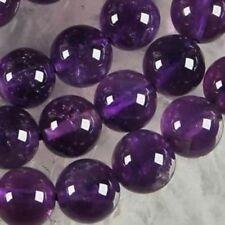 AAA+++10mm Natural Russican Amethyst Gemstones Round Loose Beads 15''
