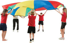 Rainbow Play Parachute Kids Childrens Garden Games Family Fun Party School