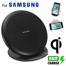 Qi Wireless Fast Charger Slim Charging Stand Dock Pad For iPhone X Samsung S9+