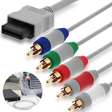 Audio Video Cable 5RCA AV Cord wire compatible with Nintendo Wii / Wii U to HDTV