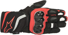Alpinestars Red TSP Textile Mens Motorcycle Riding Street Racing Road Gloves