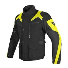 DAINESE TEMPEST D-DRY BLACK FLUO YELLOW JACKET