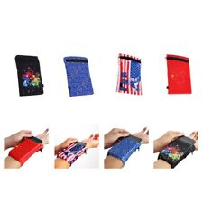 Unisex Zipper Cycling Gym Tennis Atletic Sports Wristband Sweatband Wallet Bag
