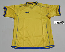 Soccer jersey, leka, great for players, coaches, yellow, great for practice.