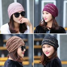 Women Lady Cancer Lace Muslim Ruffle Chemo Hat Beanie Scarf Turban Head Wrap Cap