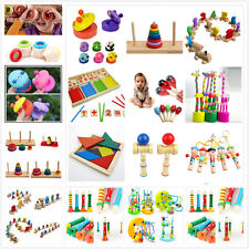 Wooden Toy Baby Kid Children Intellectual Developmental Educational Cute Toys CA