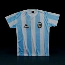 """NEW!!! ARGENTINA VINTAGE SOCCER JERSEY 1986 """"MEXICO 86 WORLD CUP"""