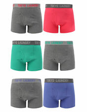 Tokyo Laundry Mens 2 Pack of Boxer Shorts Adults Briefs Underwear