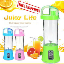 Blender Juicer Portable 380ml Cup Bottle USB Rechargeable Electric Automatic