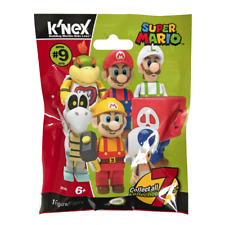 New 1 3 5 10 Or 24 K'nex Super Mario Series 9 Mystery Blind Bag Figure Official