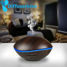 Diffuserlove 500ML LED Lamp Air Ultrasonic Humidifier for Home Essential Oil